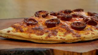 Torres en la cocina - Pizzapan calzone