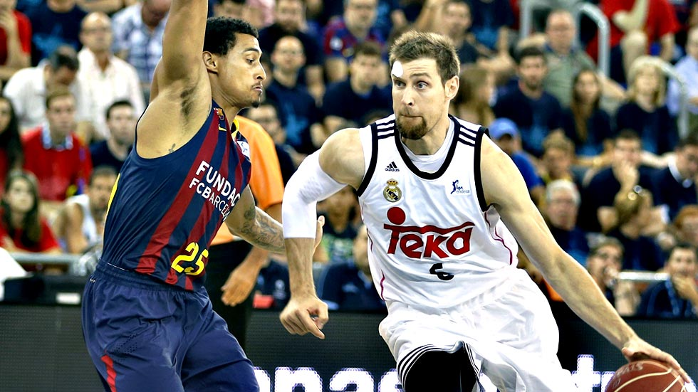 Baloncesto - Liga ACB. Play Off 3º partido: FC Barcelona - Real Madrid