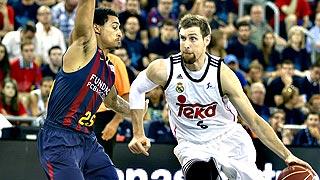 Baloncesto - Liga ACB. Play Off 3º partido: FC Barcelona - Real Madrid