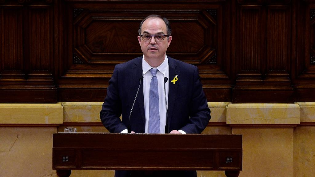 """Turull llama a la unidad contra el 155 sin aludir a la república y ofrece """"diálogo"""" a Rajoy"""