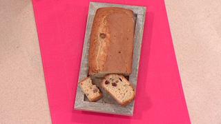 Escuela de pastelería -  Plum-cake al ron y pasas