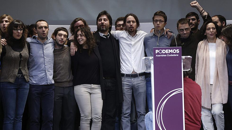 Podemos elige a Pablo Iglesias como secretario general