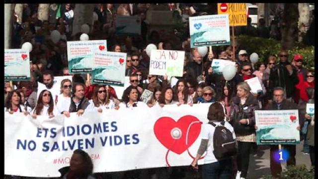 Polèmica del català a la sanitat pública