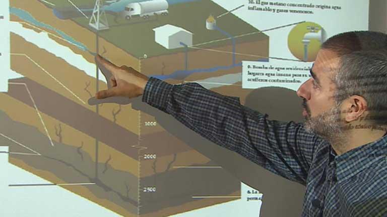 Polémica por el posible uso del 'fracking' para extraer gas natural