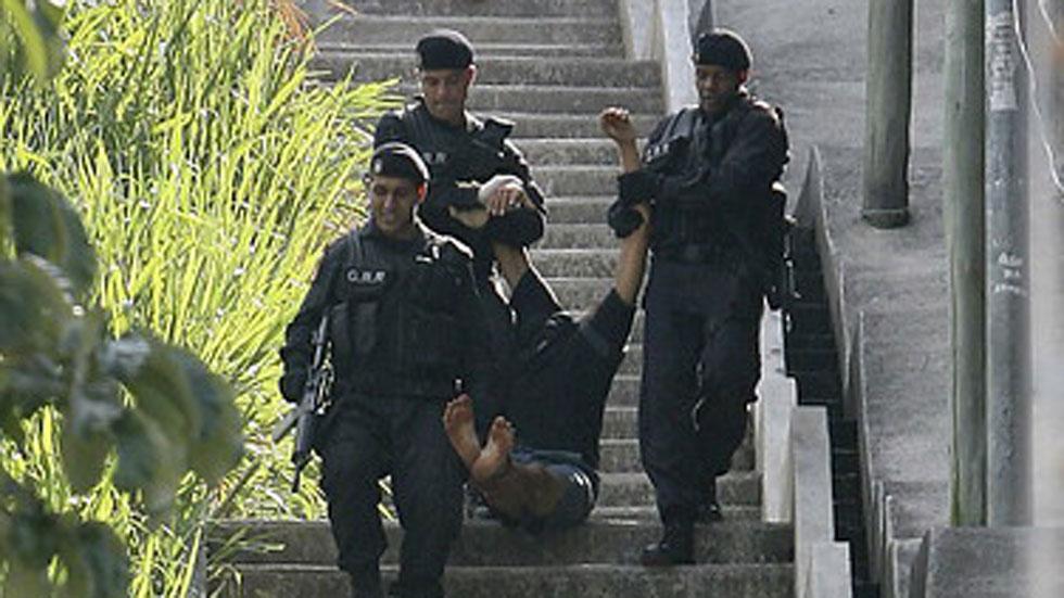 La policía brasileña mata a seis personas al día