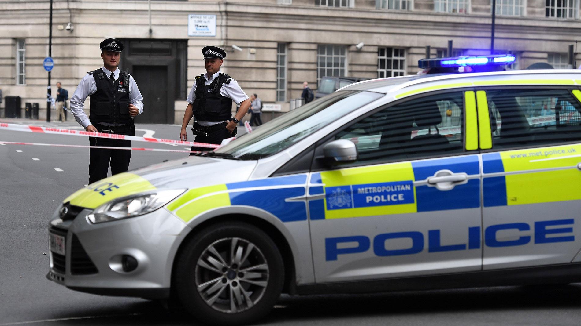 La policía británica investiga como un ataque terrorista el atropello deliberado en Londres