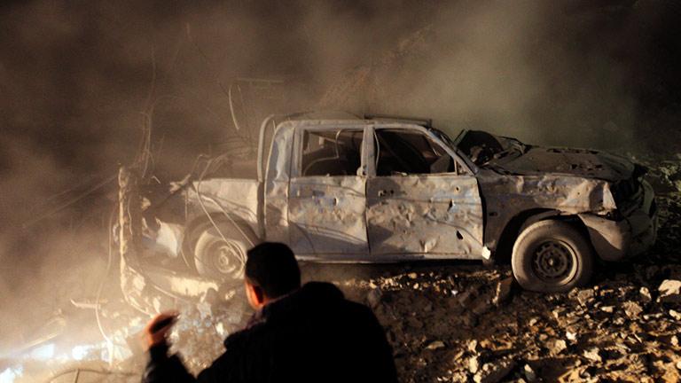 Un policía palestino muere en un bombardeo israelí sobre Gaza