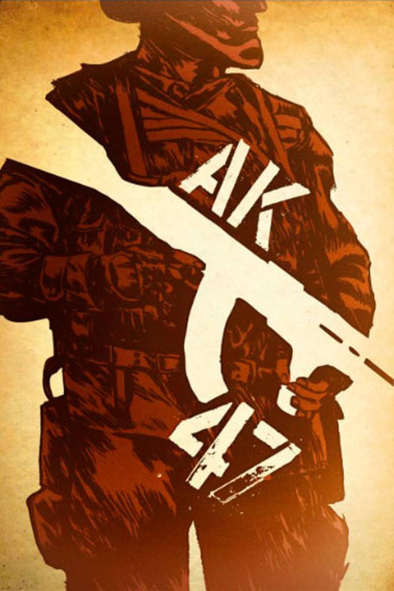 Portada de 'AK-47. La historia de Mijail Kalashnikov'