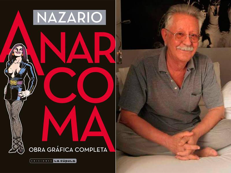 Portada de 'Anarcoma' y Nazario