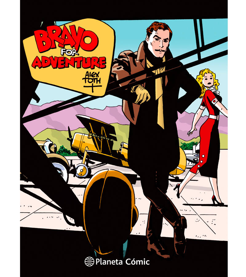 Portada de 'Bravo for adventure', de Alex Toth