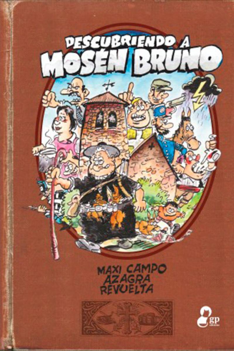 Portada de 'Descubriendo a Mosén Bruno'