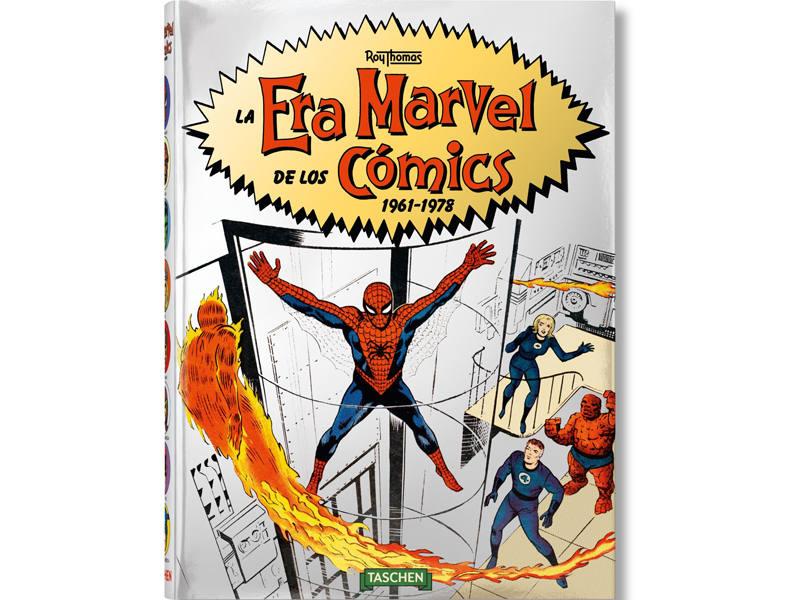 Portada de 'La Era Marvel de los Cómics'
