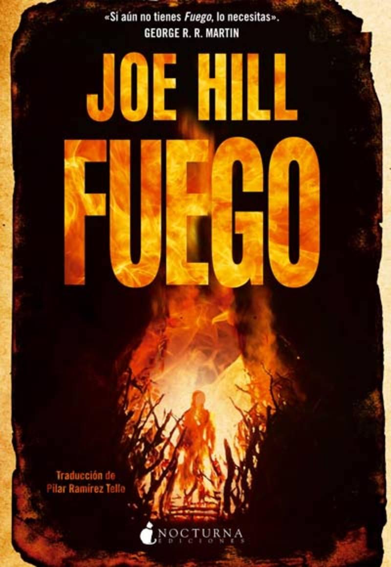 Portada de 'Fuego', de Joe Hill