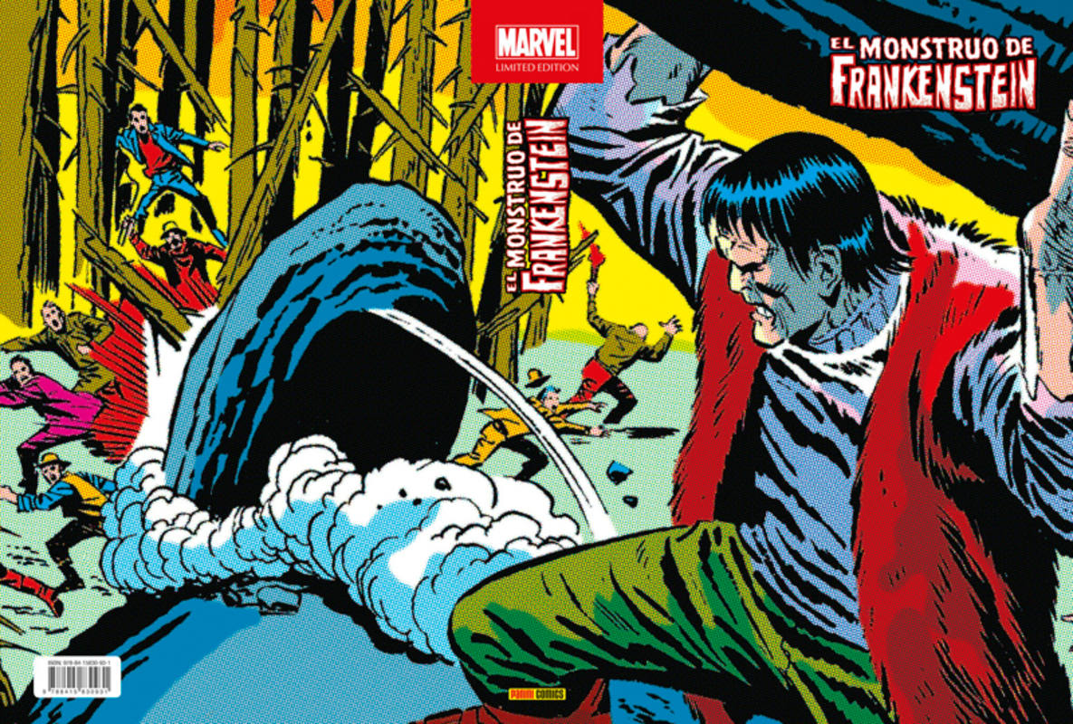Portada de Marvel Unlimited Edition: El Monstruo de Frankenstein'