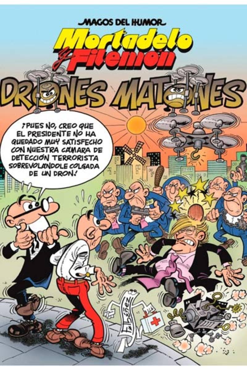Portada de 'Mortadelo y Filemón: Drones matones'