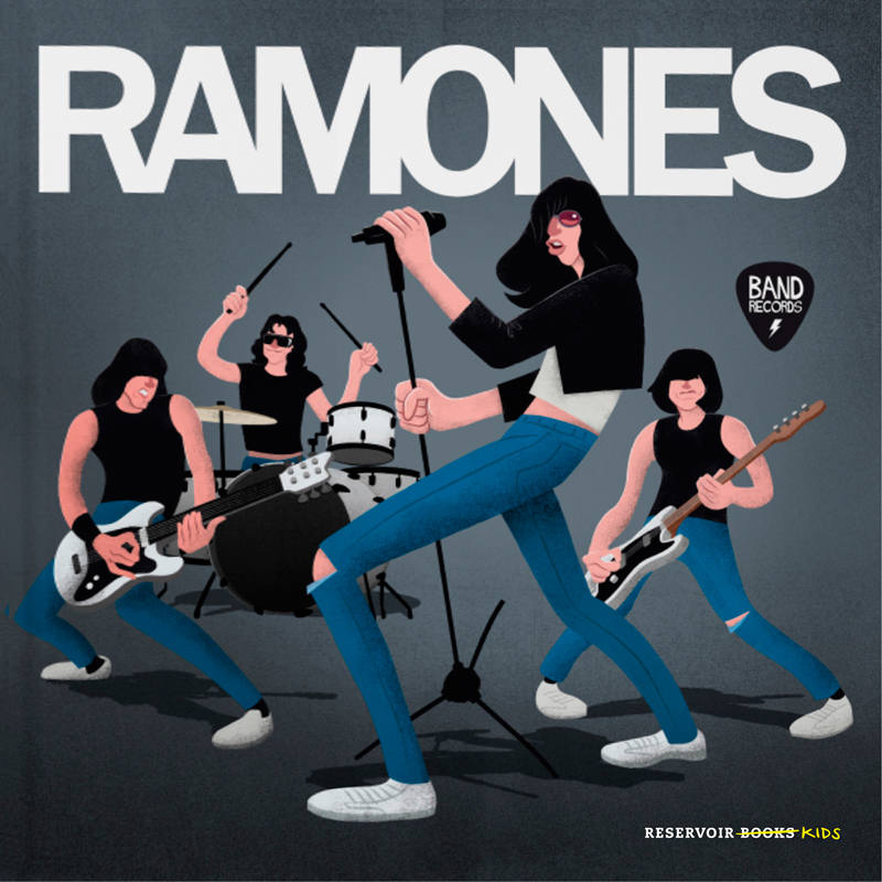 Portada de 'Ramones'