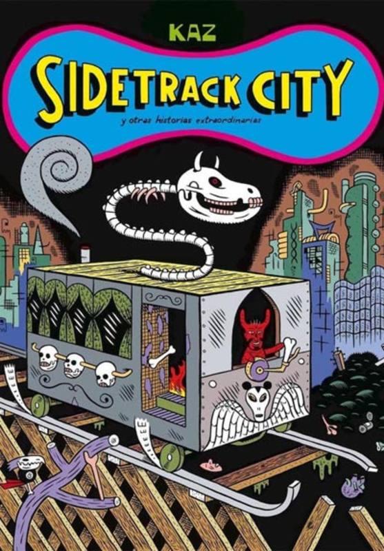 Portada de 'Sidetrack City'