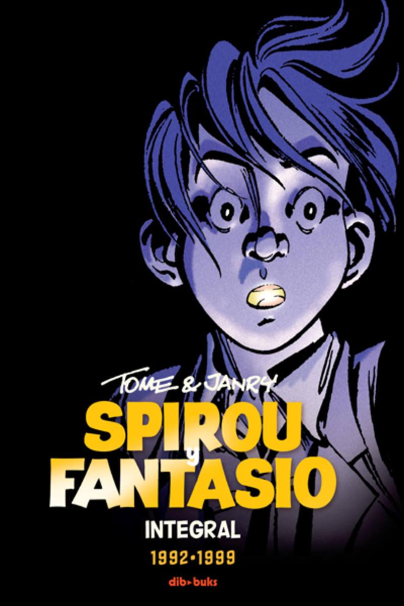 Portada de 'SPIROU Y FANTASIO INTEGRAL 16. Tome y Janry 1991-1999'
