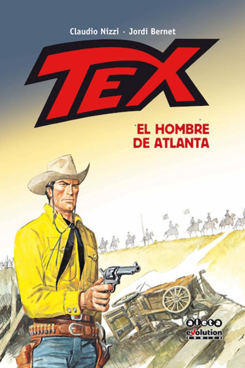Portada de 'Tex: El hombre de Atlanta'