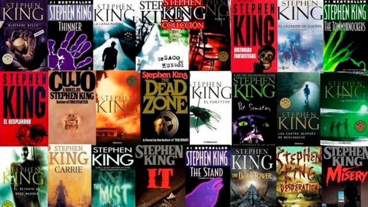 Portadas de la colección de Stephen King de la editorial De Bolsillo