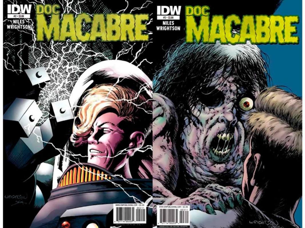Portadas de Doc Macabre