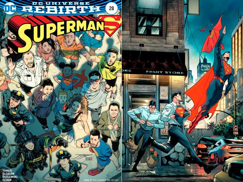 Portadas de Jorge Jiménez para 'Superman'