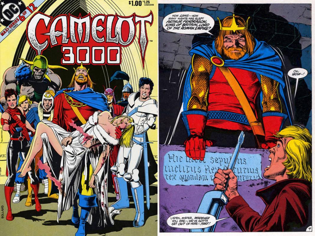 Una de las portadas más famosas de la serie y la resurrección de Arturo