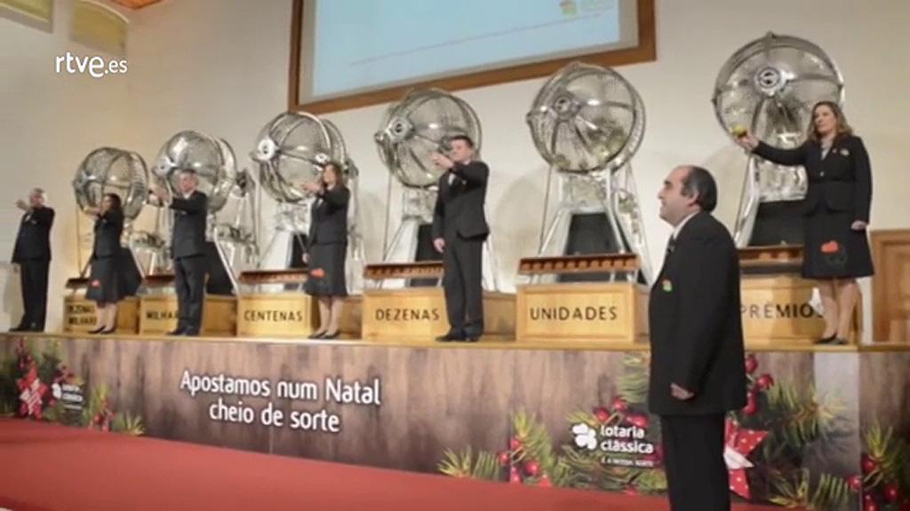 Portugal celebra su propio sorteo de Lotería de Navidad aunque sin tanta expectación como en España