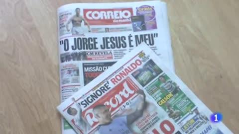 En Portugal, el fichaje de Ronaldo por la 'Juve' es la crónica de una marcha anunciada