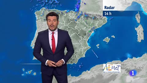Posibilidad de lluvias fuertes a final del día en el Cantábrico