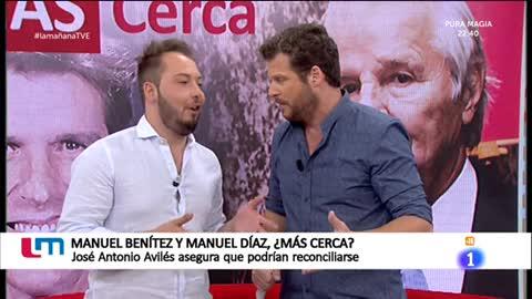 La Mañana - Posible reconciliación entre Manuel Benítez y Manuel Díaz