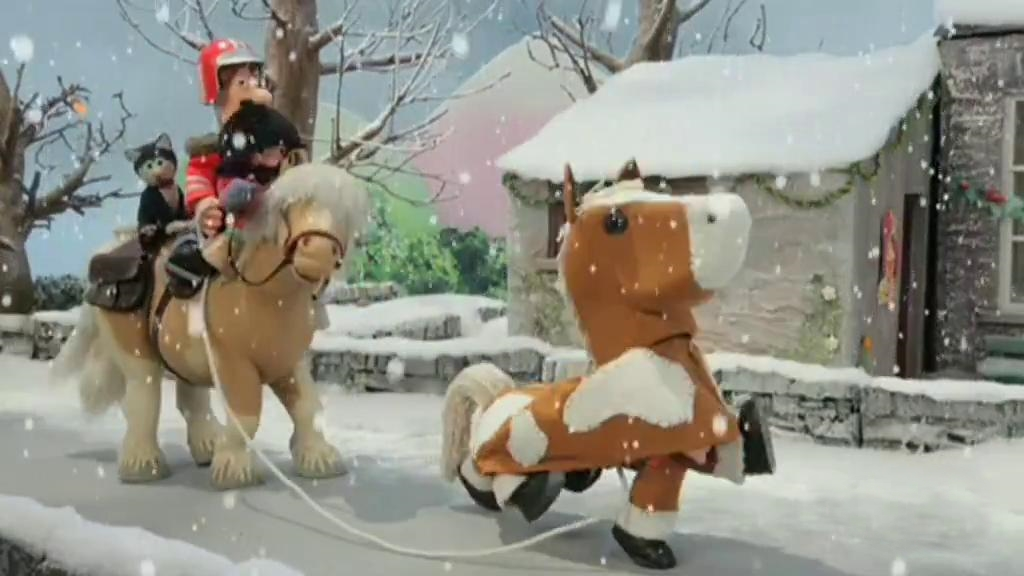 Pat el cartero en inglés - Postman Pat and the Christmas panto horse ... e48ae42c55b