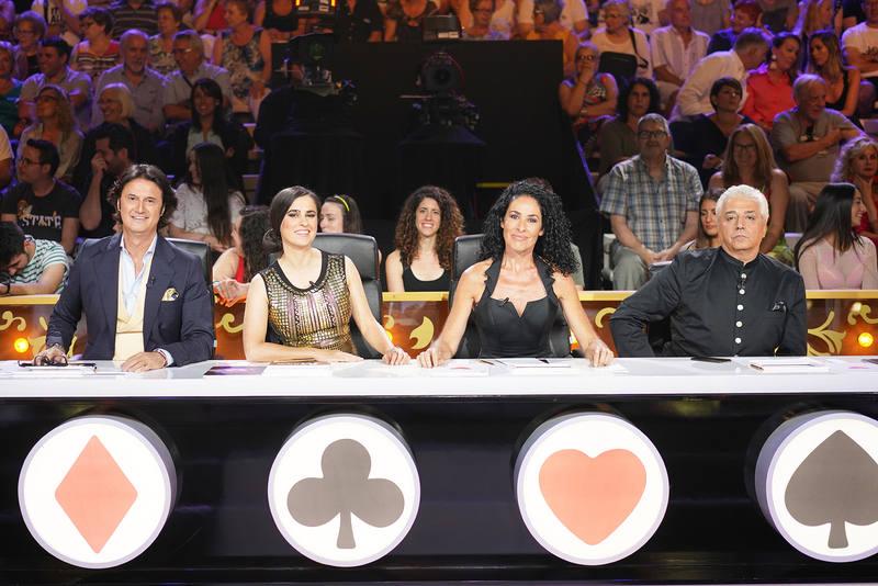 Poty, Nina, Inés la Maga y Anthony Blake