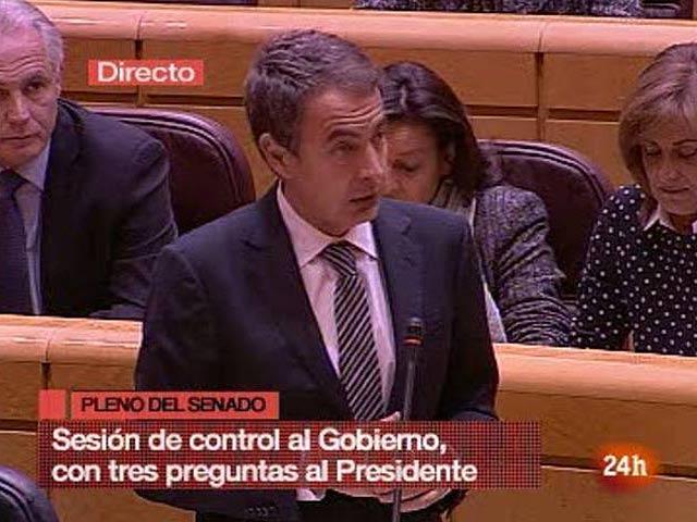 """El PP califica el pacto social de """"pactito feo"""" y Zapatero les acusa de """"populismo barato"""""""