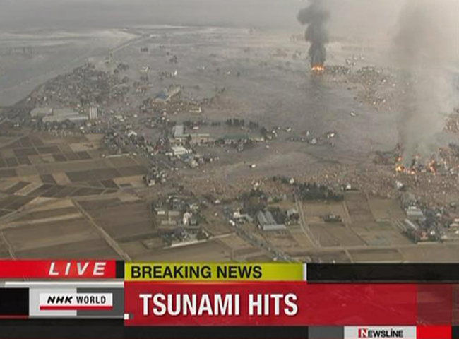Prácticamente toda la cosa del Pacífico está en alerta por tsunami