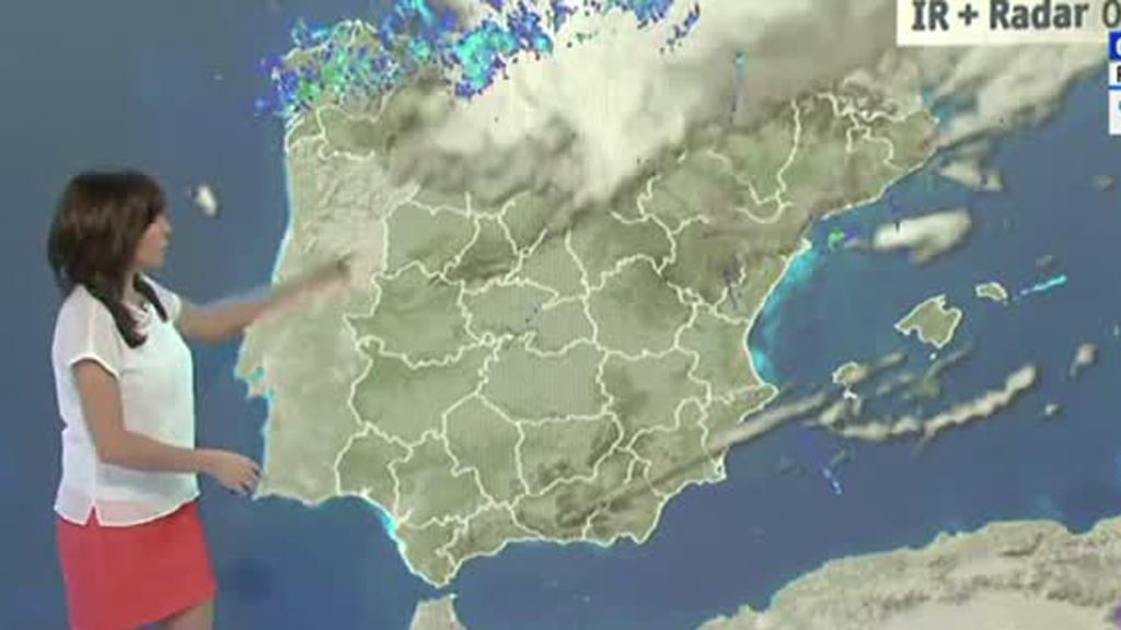Precipitaciones en el norte y Baleares y nieve en Pirineos