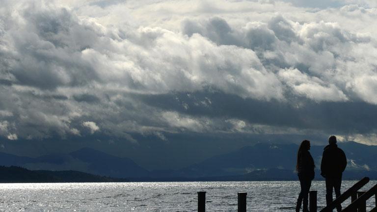 Precipitaciones ocasionalmente fuertes en el oeste de Galicia
