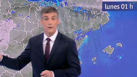 Precipitaciones persistentes en el Cantábrico oriental y norte de Navarra