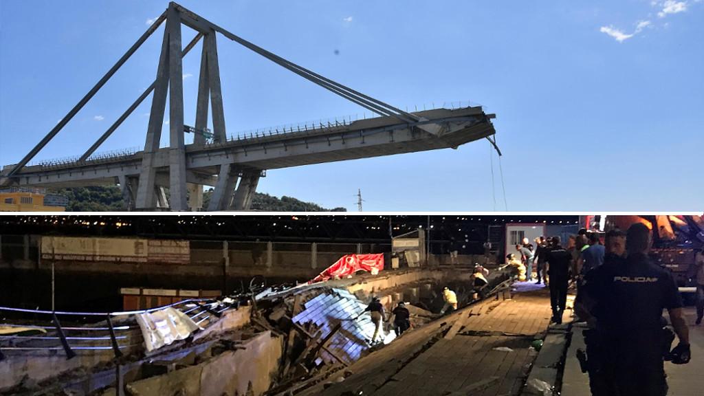 Informe Semanal - Precipitados al vacío: colapsos en Génova y Vigo