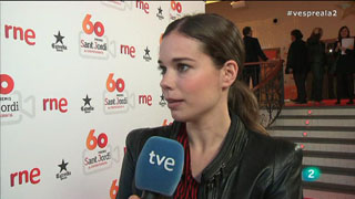 Vespre a La 2 - Premis Sant Jordi - Laia Costa