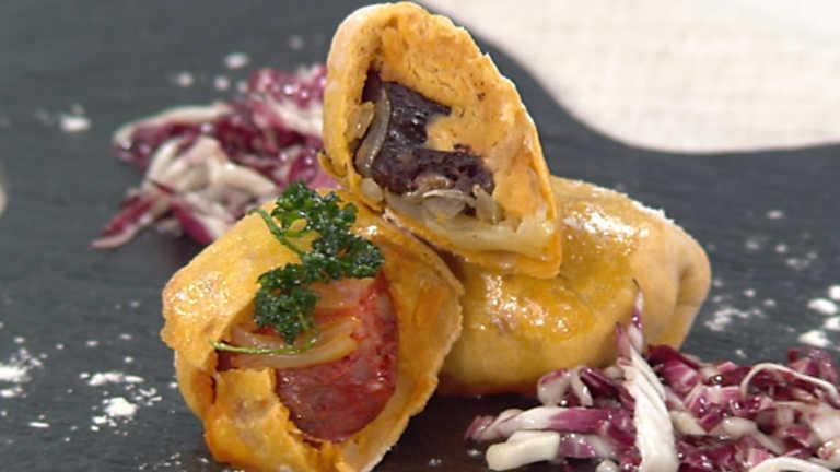 Cocina con Sergio - Preñaditos variados encebollados