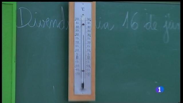 Preocupació a les escoles per la calor extrema d'aquests dies