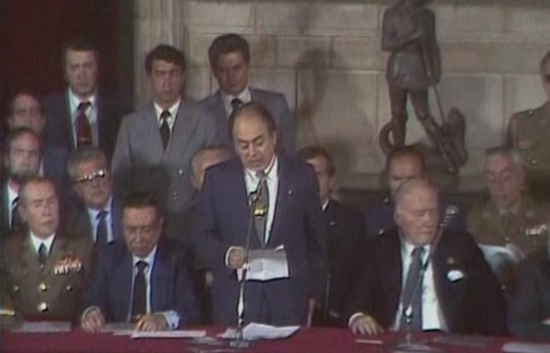 Arxiu TVE Catalunya - Presa de possesió de Jordi Pujol com a president de la Generalitat el 1980