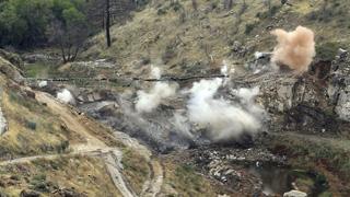 La presa de Robledo de Chavela, demolida 46 años después de su construcción