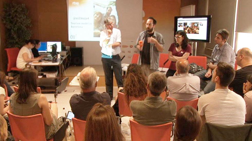 OI2 - Presentación del reportaje que trata sobre el modelo de turismo en Barcelona.