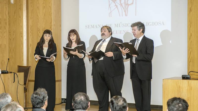 Actuación de cuatro cantantes del Coro RTVE