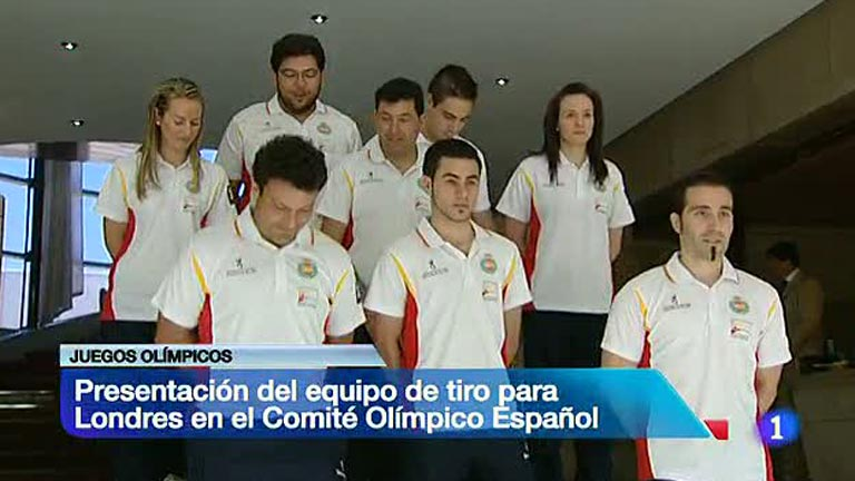 Presentada la delegación olímpica de Tiro para Londres 2012