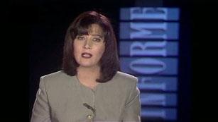 Presentadores Informe Semanal - Georgina Cisquella - 1996