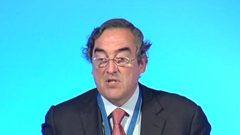 """El presidente de la CEOE opina que, """"sin una regeneración ético-moral, nada puede mejorar"""""""