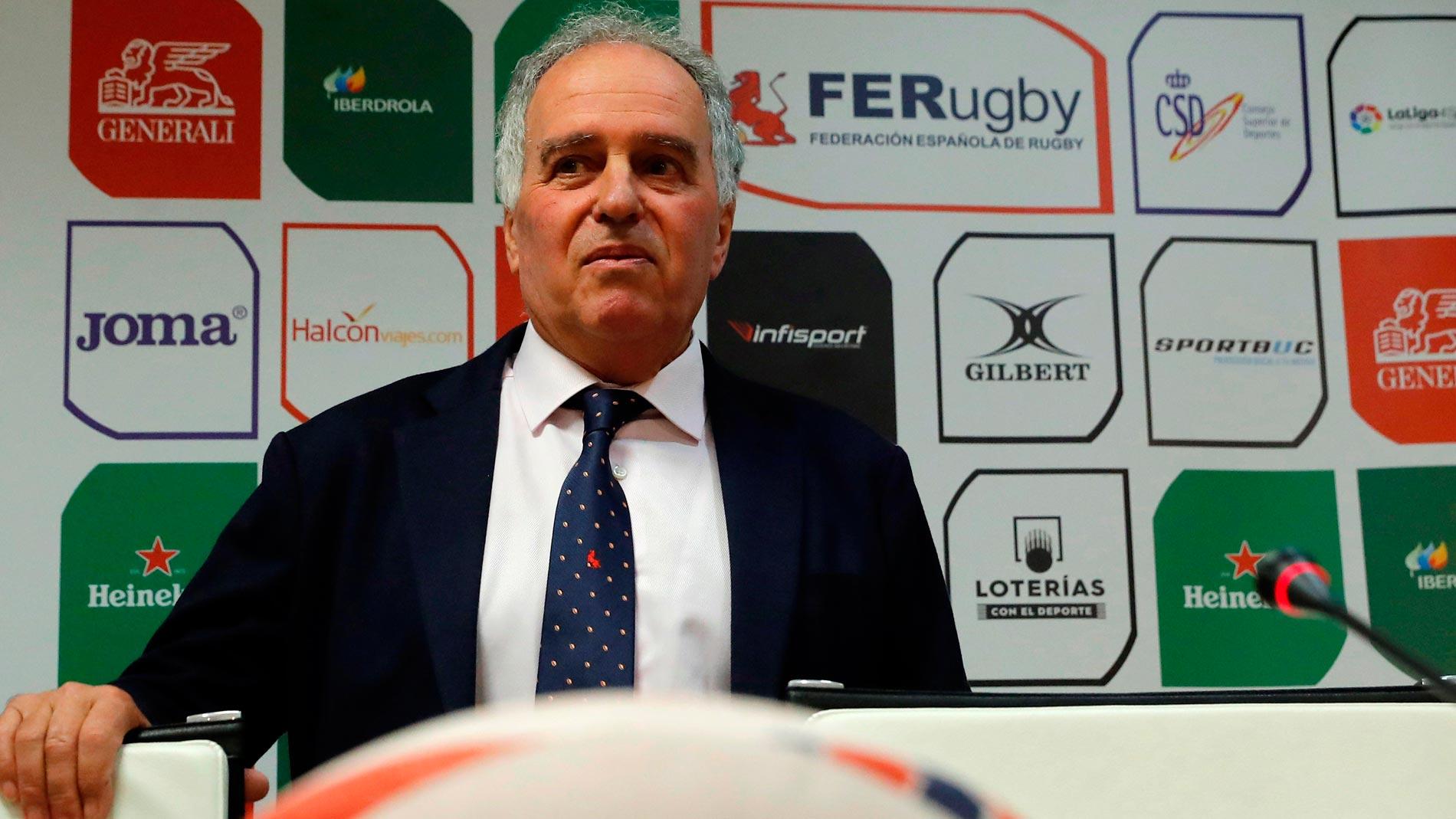 El presidente de la Federación de rugby anuncia la apelación de España por su exclusión del Mundial